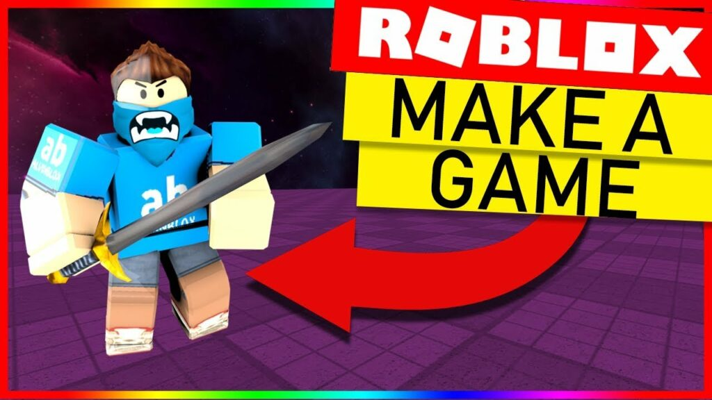 Build a game in Roblox