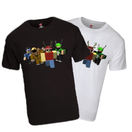 How to send Robux to a friend: purchase merchandise