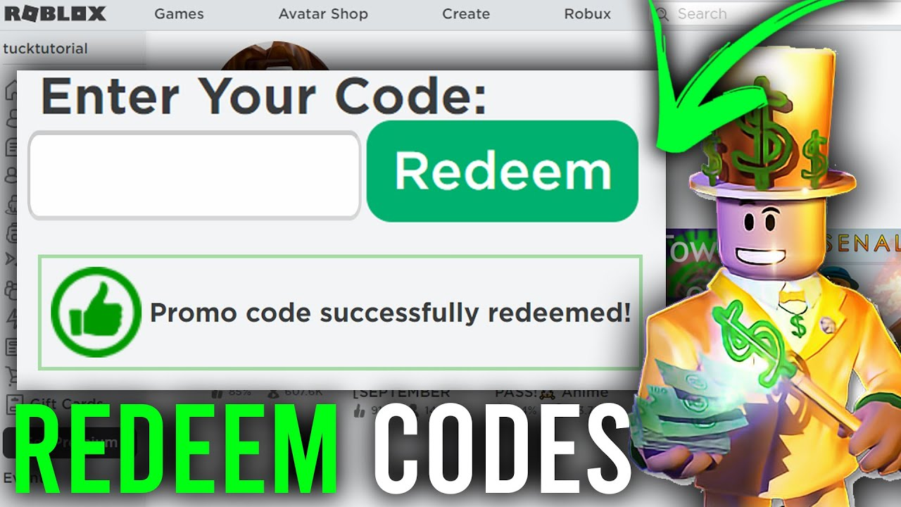 Roblox Redeem code: Featured image