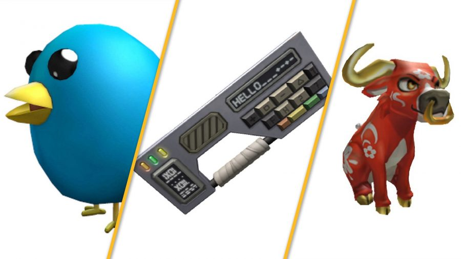 Roblox game items