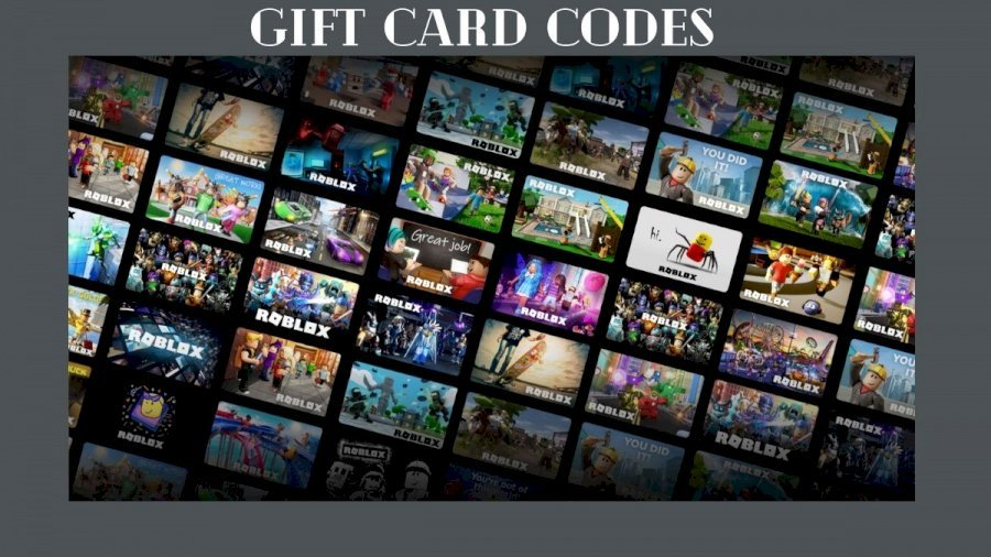 Roblox Gift Card: Gift Card Codes