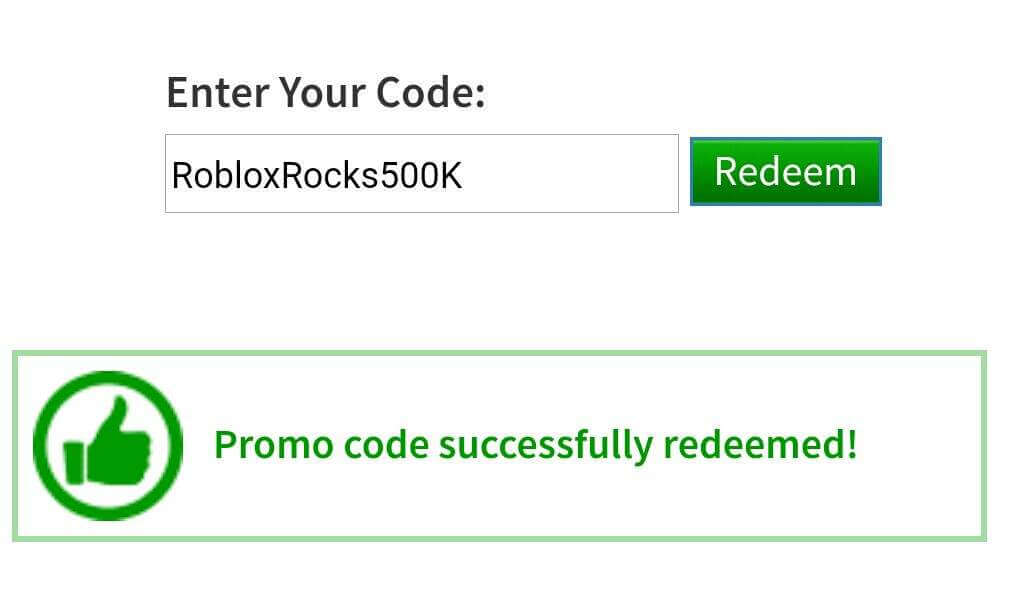 Roblox face: How to redeem promo codes