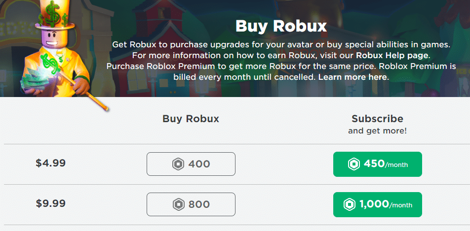 free Robux for real: how to purchase robux