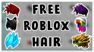 Process of to get free roblox hair