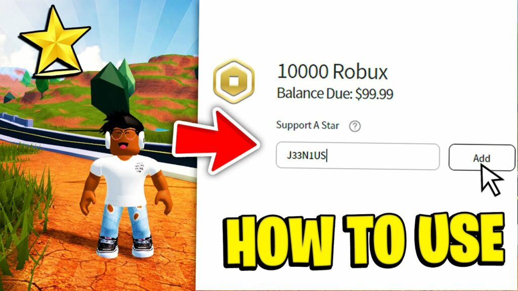 roblox star codes uses