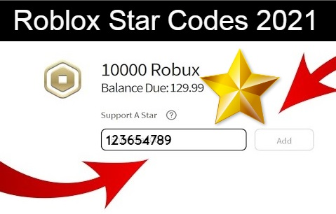 star codes for Roblox: complete list